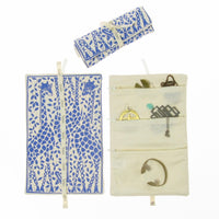 Jewellery Roll Giraffe Print | keeps your jewellery from tangling