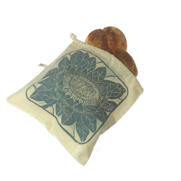 Bread Roll Bag | breathable storage for round loaves and ciabatta rolls