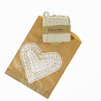 Face Cloth & Body Scrub Set | a natural beauty gift