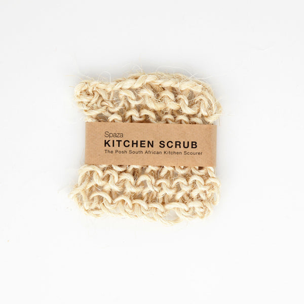 Kitchen Scourer | eco-friendly scrub for pots and pans