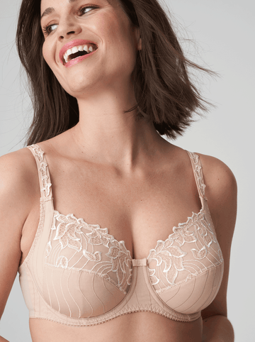 Prima Donna Deauville underwired full cup bra in Caffe Latte