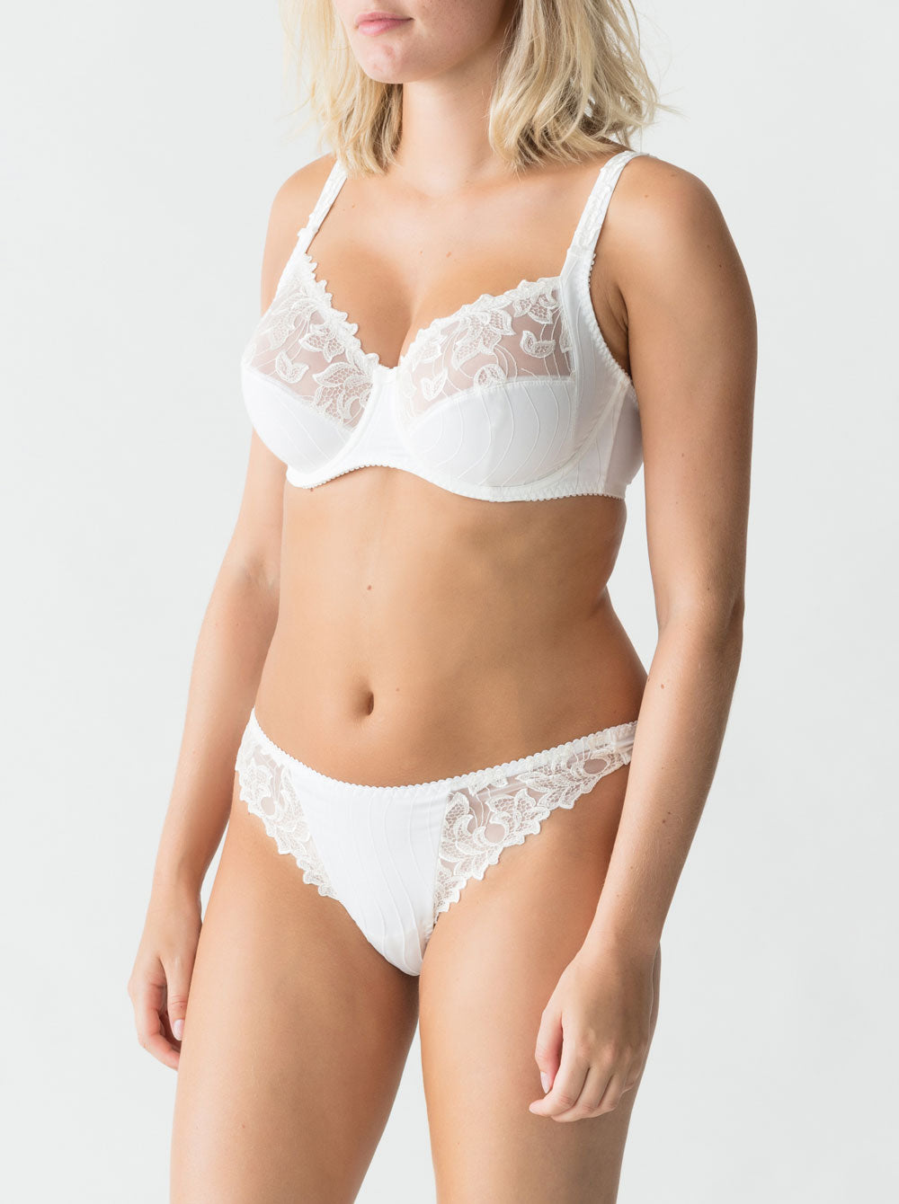 Prima Donna Deauville underwired full cup bra in Natural