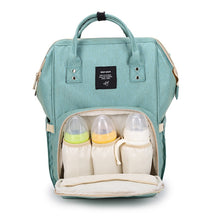 Load image into Gallery viewer, Fashion Mummy Maternity Nappy Bag Brand Large Capacity Baby Bag Travel Backpack Desinger Nursing Bag for Baby Care