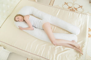 Straight Maternity big U Body Pillows For Pregnant Women Pregnancy Pillow For Side Sleeper Removable Pregnant Pillow