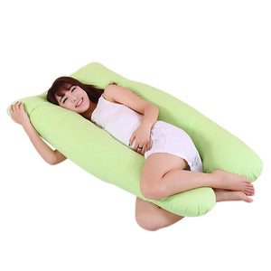 Body Pillows Sleeping Pregnancy Pillow Belly Contoured Maternity U Shaped Removable Cover pregnant comfortable cushion