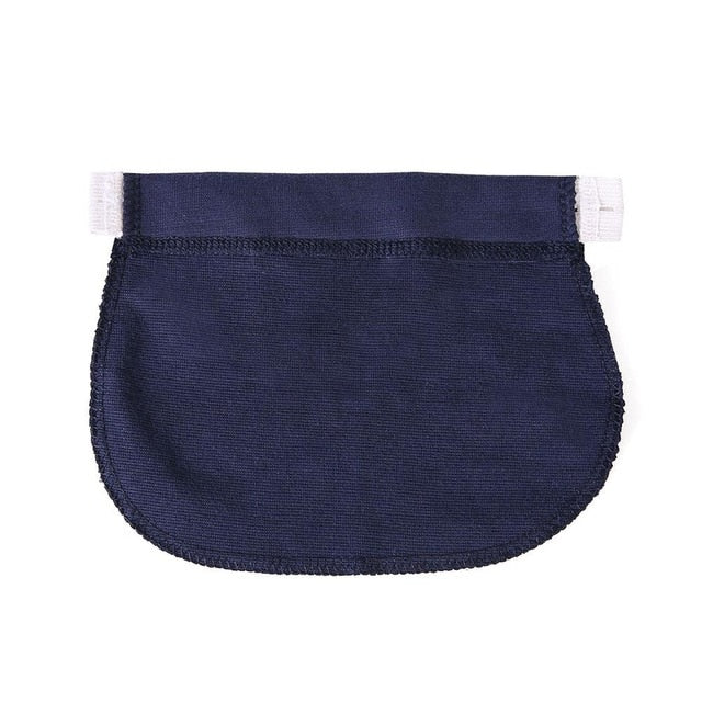 Waist Extender Elastic pants Maternity Pregnancy Waistband Belt Telescopic Elastic Band at the Waist of the Trousers