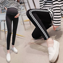 Load image into Gallery viewer, Maternity Leggings Dress Pregnant Woman Elastic Force Self-cultivation Pants Support Abdomen Trousers Pregnancy Legging