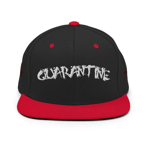 CrisisKhan Collection - Quarantine Snapback Hat - Marzelli