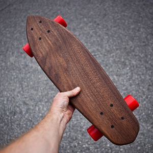 Cruiser - Solid Walnut Skateboard