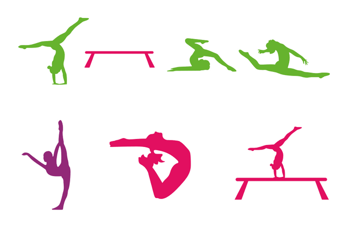 DIY CUSTOM Gymnast Sign Stenciling Kit (Design #2)