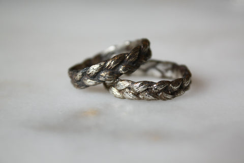 Large Braided Ring