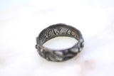 "Poesy Ring inscribed with ""TREW LOUE"""