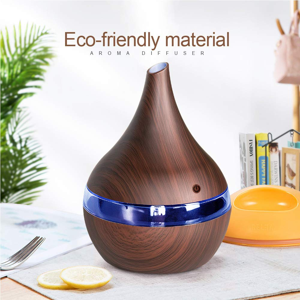 Aroma Diffuser LED Essential Oil USB Air Humidifier Aromatherapy Purifier Home