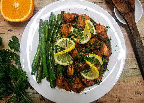 Super Easy - Yummy - Fusion Honey-Citrus Chicken