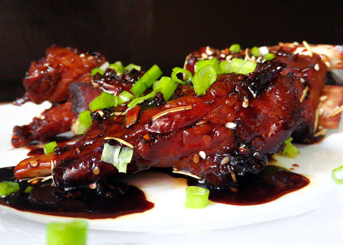 Sticky Oven Barbequed Ribs