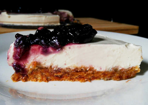 No Bake Vegan Cheesecake