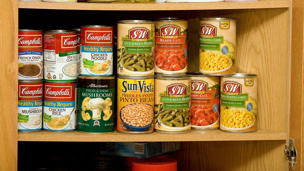 10 Ways Your House Is Making You Sick your pantry is packed with canned food