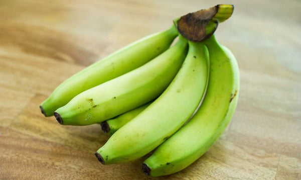 probiotic food for the gut Green bananas
