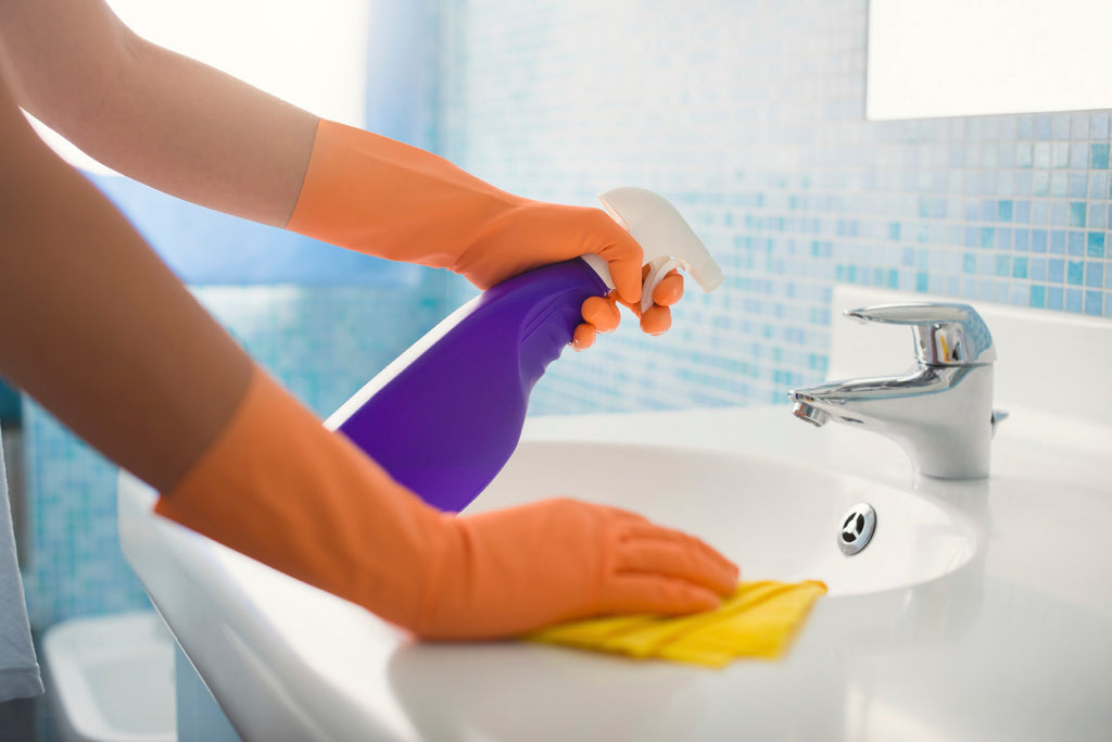 10 Ways Your House Is Making You Sick spray down your shower with bleach