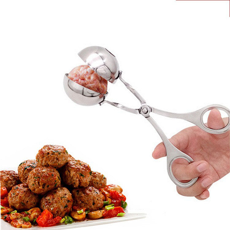 STAINLESS STEEL MASHED POTATOES AND MEATBALLS CLIP