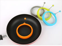 Load image into Gallery viewer, NON-STICK SILICONE PANCAKE EGG RING