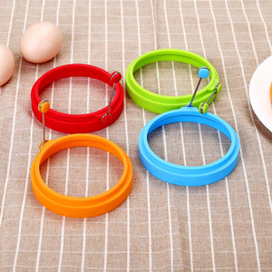 NON-STICK SILICONE PANCAKE EGG RING