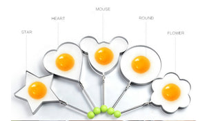 STAINLESS STEEL PANCAKE AND FRIED EGG MOLD