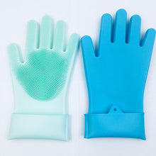 Load image into Gallery viewer, DURABLE HEAT AND SLIP RESISTANT LONG RUBBER SILICON GLOVE