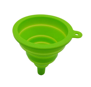 KITCHEN FOLDABLE SILICONE FUNNEL