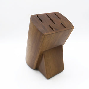 HOT ACACIA WOOD KNIFE HOLDER FOR 5 PCS KNIFE SET