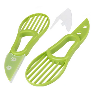 3-IN-1 MULTI-FUNCTIONAL AVOCADO PEELER CUTTER