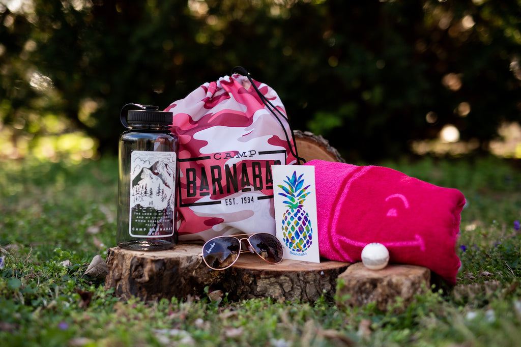 Pink Camo Camp at Home Bundle