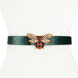 All the Buzz Embellished Belt
