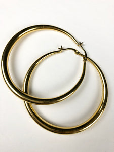 bloomandthebee,Hoops in Gold,Bloomandthebee,