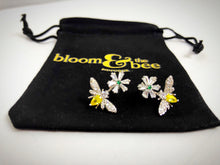 Load image into Gallery viewer, Bloom & Bee Signature CZ Earrings