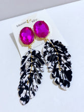 Load image into Gallery viewer, Spotlight Acrylic Feather Earrings