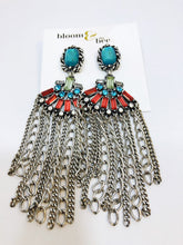 Load image into Gallery viewer, bloomandthebee,Fierce Fringe Earrings,Bloom and The Bee ,earrings