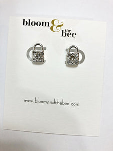 bloomandthebee,Dainty Stud Earrings,Bloom and The Bee ,earrings