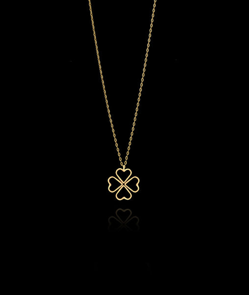 Fairtrade Gold Love Clover Pendant by Catherine Zoraida