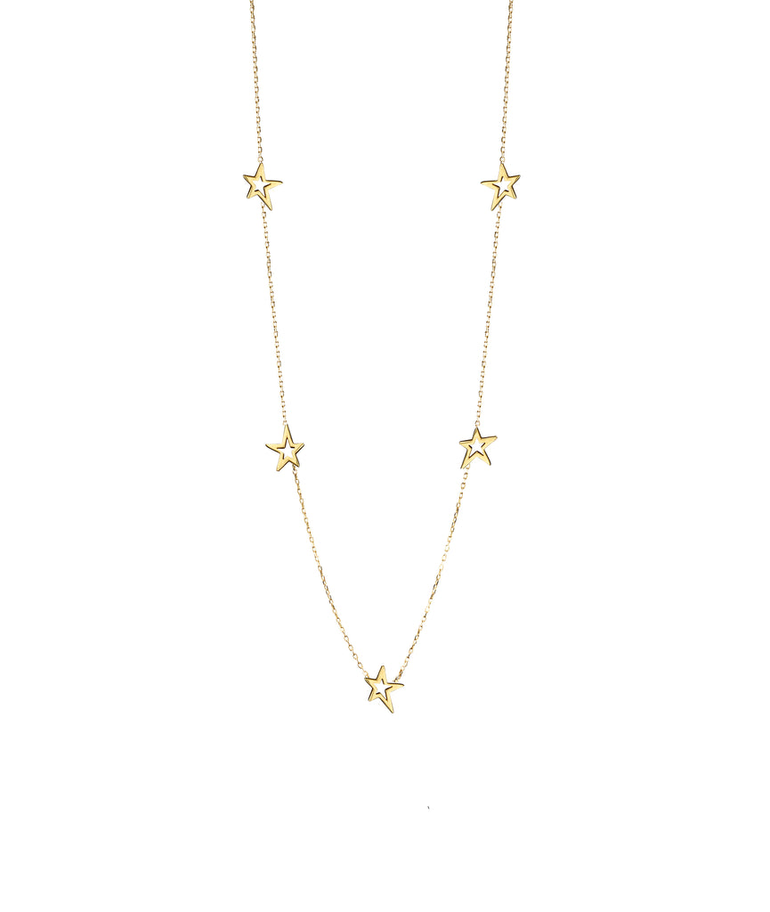 Catherine Zoraida fairtrade gold shooting star necklace