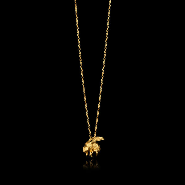 Honeybee Necklace by Catherine Zoraida Jewellery