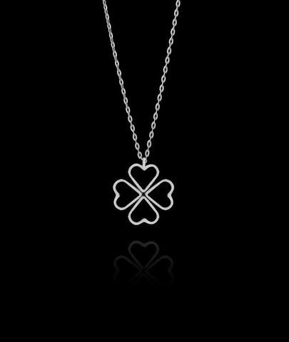 Silver Fairtrade Love Heart Necklace