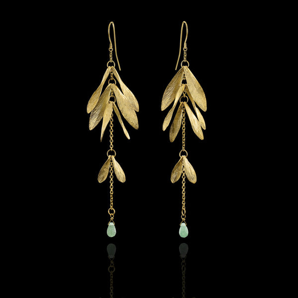 Long Luck Earrings by Catherine Zoraida