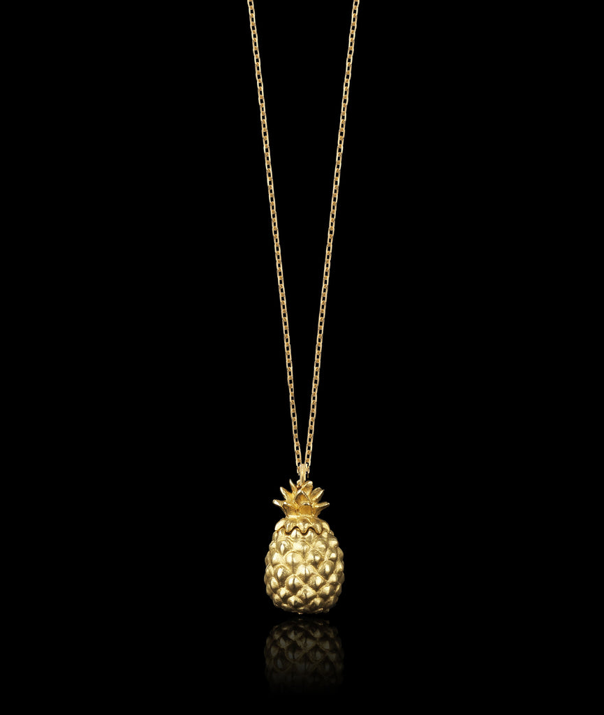 Pineapple Locket Pendant by Catherine Zoraida
