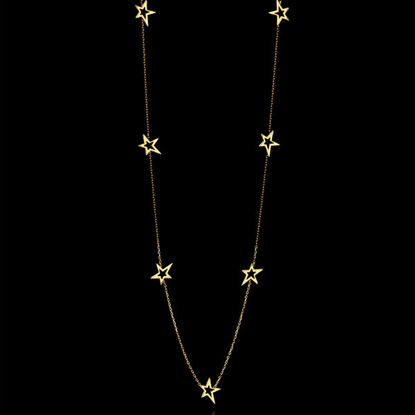 Shooting Star Fairtrade Gold Necklace Catherine Zoraida