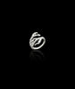 Silver Apple Twig Ring by Catherine Zoraida