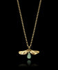 Gold Fly Away Pendant