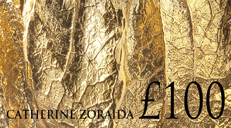 £100 gift voucher for jewellery designer Catherine Zoraida