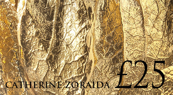 £25 gift voucher for jewellery designer Catherine Zoraida