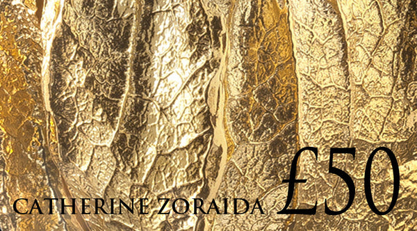 £50 gift voucher for jewellery designer Catherine Zoraida